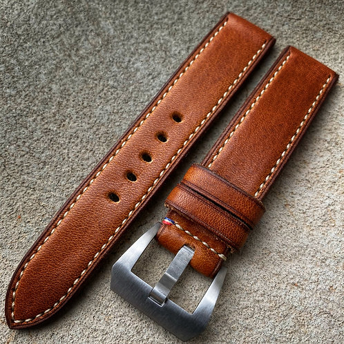 Bracelet 20/20 cuir US tan