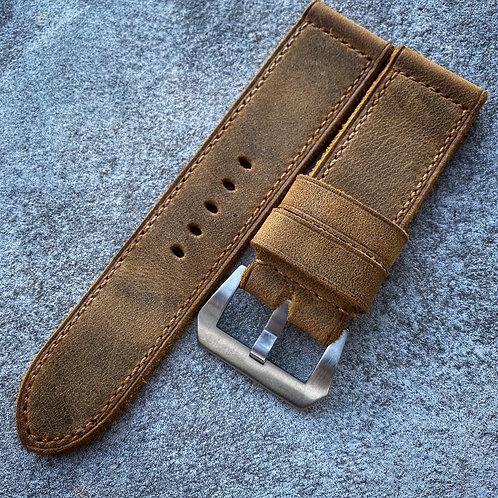 Bracelet cuir US vintage 26/26