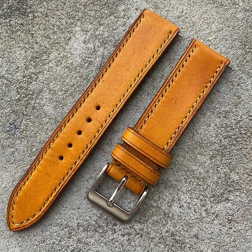 Bracelet 19/18 cuir italien ocre