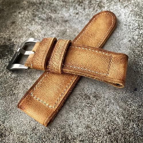 Bracelet cuir  26/26 Yellow Oil