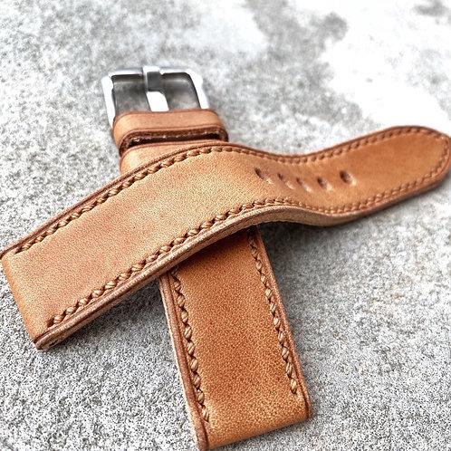 Bracelet 20/20 cuir US  naturel