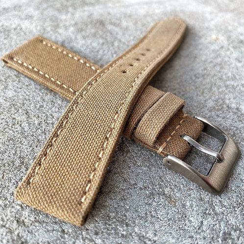 bracelet 19/18mm rolled canvas