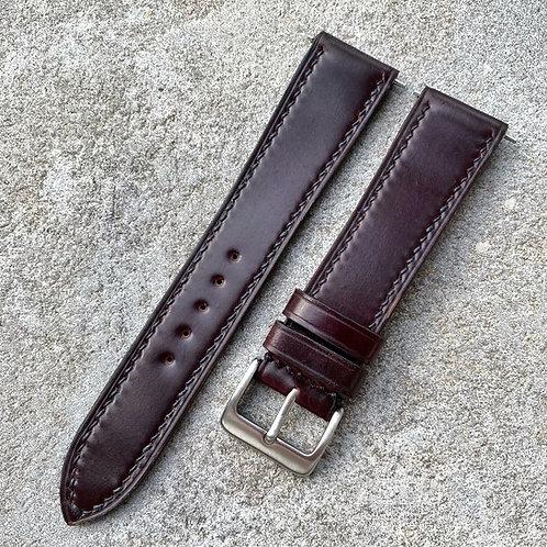 Bracelet cuir US shell Cordovan, différents coloris