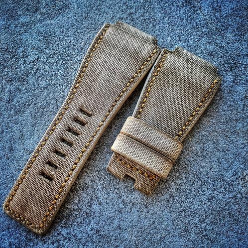Bracelet pour BR01/03 canvas/cuir