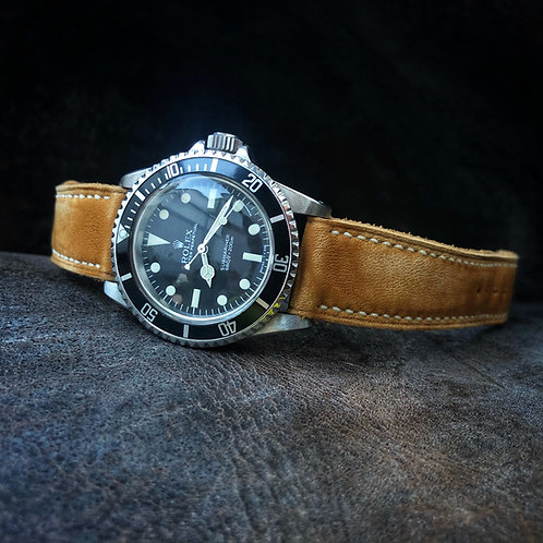 Bracelet cuir US Soft Tan