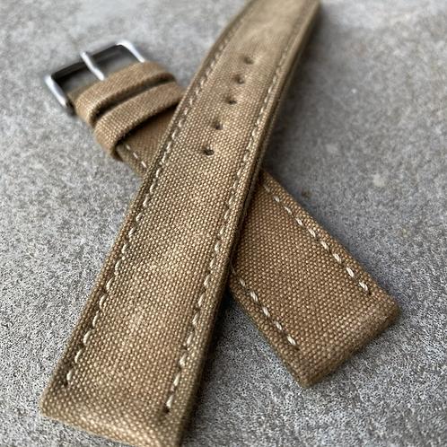 Bracelet 19/18 canvas rembordé