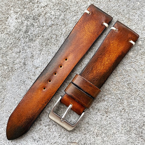 Bracelet 20/18 cuir veau patiné