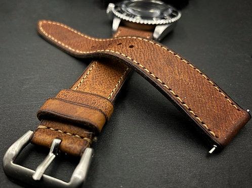 Bracelet cuir France veau stock ancien
