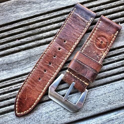 Bracelet cuir Swiss ammo 24/24 vintage