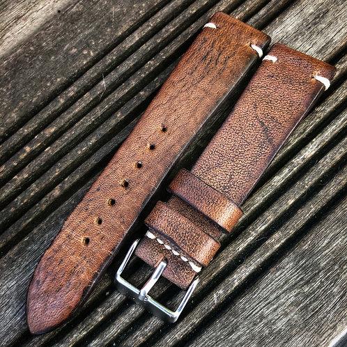 Bracelet 20/18 cuir vintage