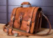 besace cuir, cousu main, fabriqué en France, sac, sacoches artisanal