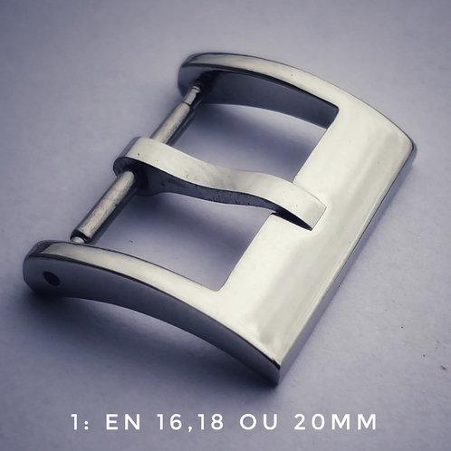 Boucle pour bracelet montre ardillon graphique