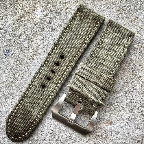 Bracelet 26/26 canvas militaire