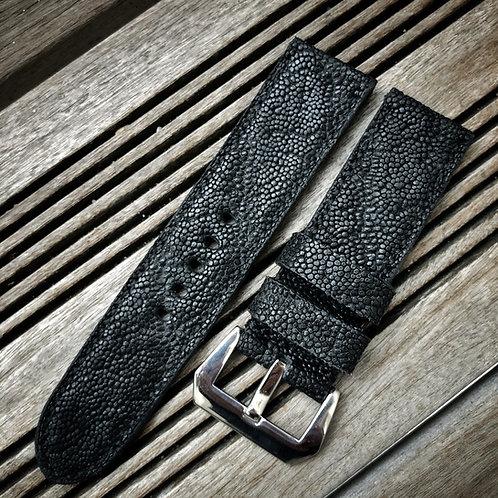 Bracelet cuir éléphant noir