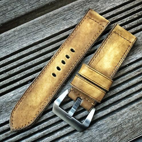 Bracelet cuir veau gold
