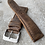 Thumbnail: Bracelet 20/18 mm cuir us brown vintage small