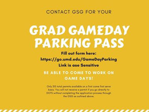 Game Day Parking Passes