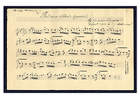 Manuscript for Galician Sher, by Vladimir Schapiro (Library of Congress, USA)