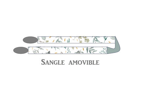 Sangle amovible