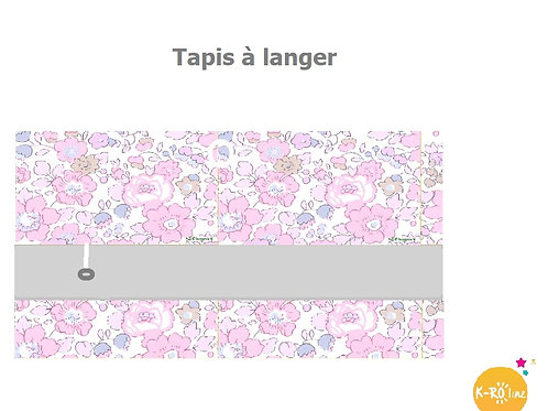 Tapis à langer