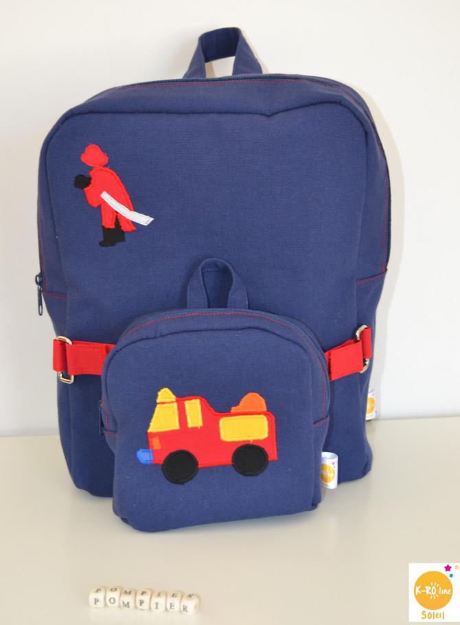 Le sac à dos d'un futur Pompier