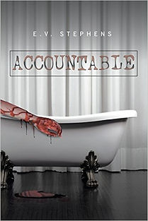 Cover art for mystery novel Accountable by E.V. Stephens