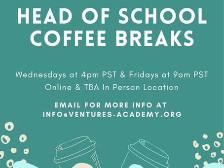 Coffee with the Head of School