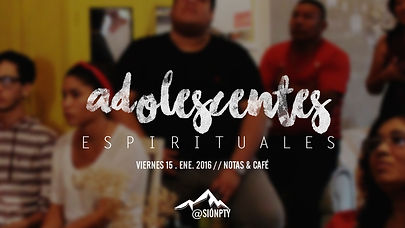 -adolescentes espirituales