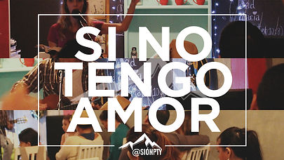 -si no tengo amor
