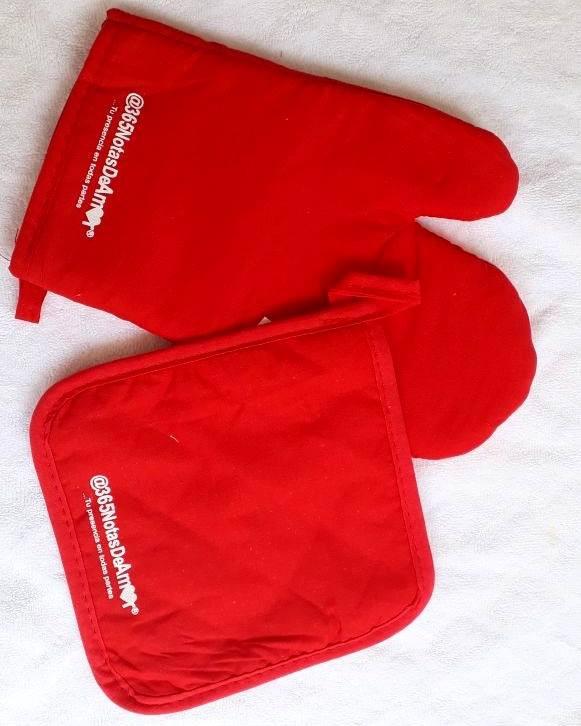 Kit cocina, guantes y agarraollas