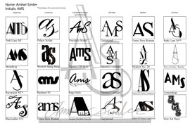 60 Initial Logos Page 1