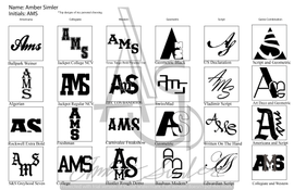 60 Initial Logos Page 2