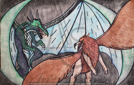 Dragon and Griffin