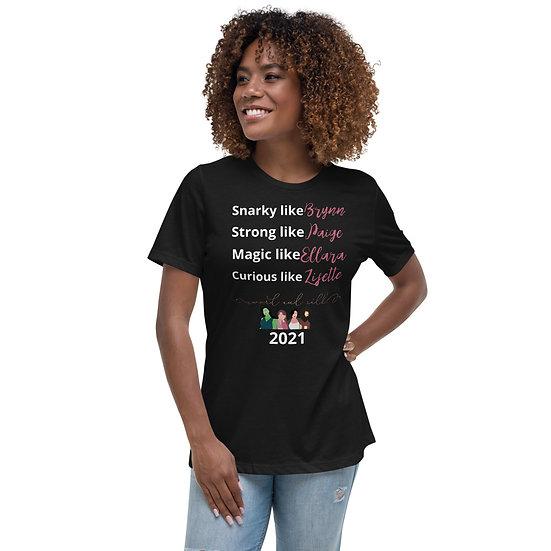 Dark 2021 Women's Relaxed T-Shirt