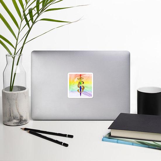 Pride Bubble-free stickers