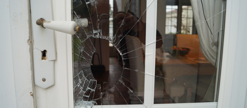 Shard of glass (apologies to Debbie Harry)