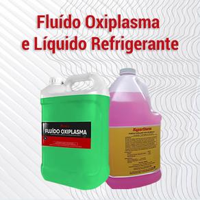 Como utilizar o Fluído Oxiplasma e o Líquido Refrigerante?
