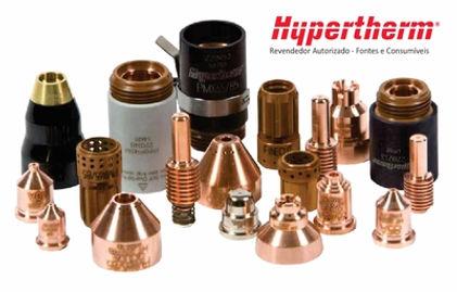 Consumíveis de Plasma CNC Hypertherm