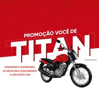 Promoção Você de Titan 2019