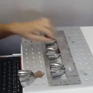 Gravação a laser 20W