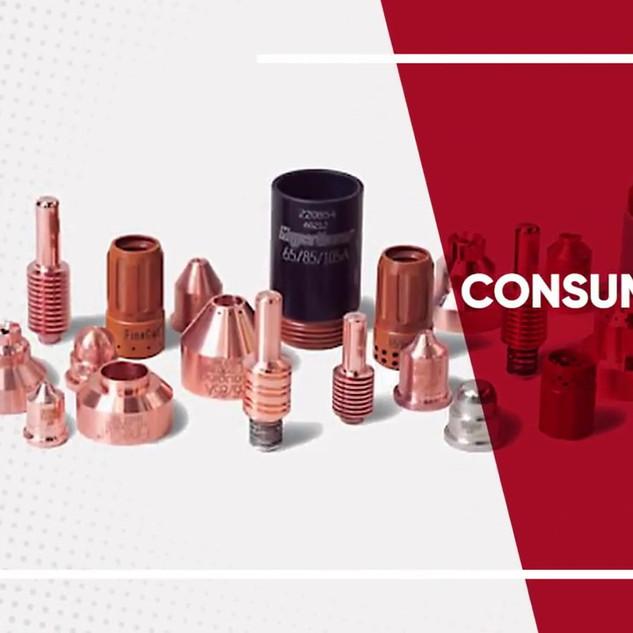 Consumíveis e acessórios Metalique