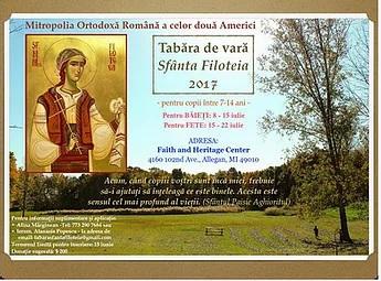 Saint Filoteia summer camp