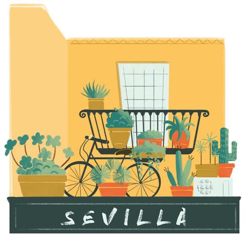 Sevilla Balcony