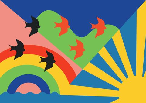 Alternative Sussex day flag