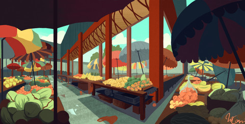 sir selwyn clarke market illustration (1