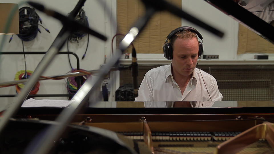 Jef Neve recording 'One' at Abbey Road Studios