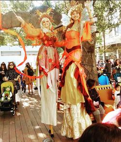 Autum Fairy, Santana Row