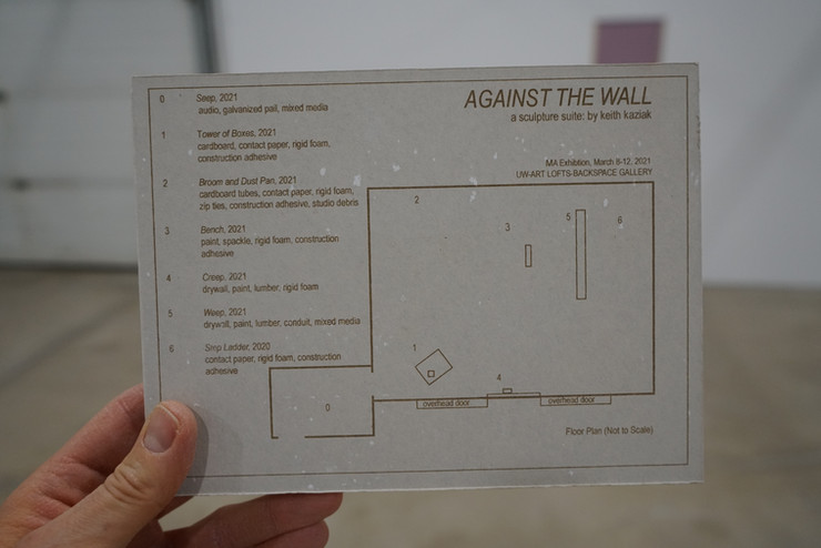 Against the Wall Exhibition Map