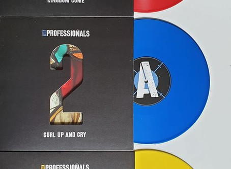 """The Professionals: Three part 10"""" single series"""