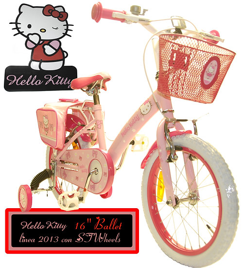 BICICLETTA HELLO KITTY